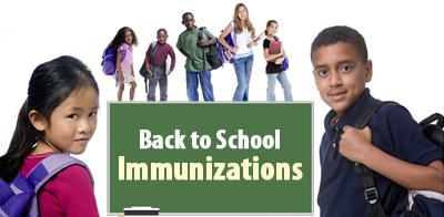 Back to School Immunization
